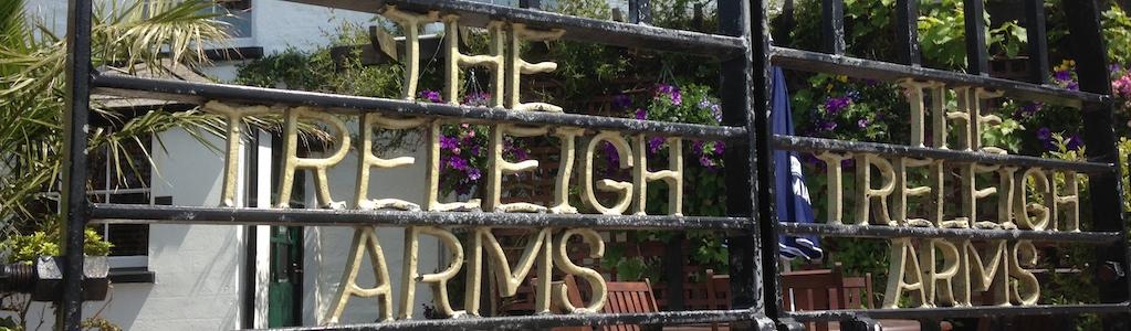 Treleigh Arms gates